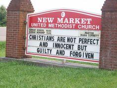 Funny church signs, church humor, funny signs, i love you god, christian si Church Sign Sayings, Funny Church Signs, Church Humor, Funny Signs, Images Bible, Christian Jokes, Sunday Worship, Jesus Is Lord, God
