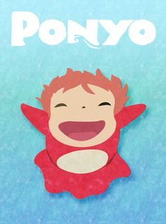 <3  *sigh* This just makes me want to cover every inch of available skin with adorable Ponyo tattoos. 1 just isn't feeling like enough.