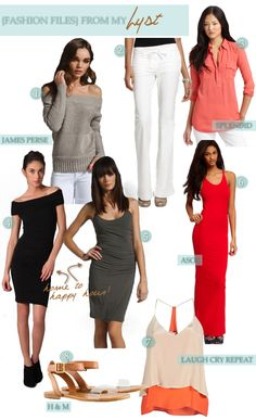 HAUTE HOUSEWIFE Comfy Chic fashion collage