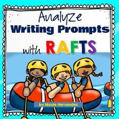Do you teach your students how to attack writing prompts by using specific steps expressed by acronyms? Well here are simple posters and bookmarks that highlight the decoding of writing prompts with the acronym RAFTS. Writing Resources, Writing Skills, Writing Prompts, Teaching Resources, Co Teaching, Teaching Grammar, Grammar Activities, Writing Activities, Differentiated Instruction Strategies