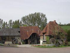 France. Basse Normandie. Manoir de Grandouet. Productores de calvados y sidra