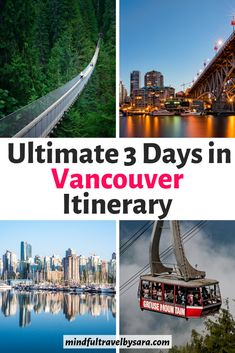 Spending 3 days in Vancouver? This 3 day Vancouver Itinerary features the highlights of Vancouver and What to Do in Vancouver in 3 Days. 3 days in Vancouver | Vancouver in 3 days | three days Vancouver | Vancouver 3 day itinerary | Vancouver Travel | Top attractions in Vancouver | Best things to do in Vancouver Canada | Vancouver itinerary | weekend in Vancouver BC | Vancouver Travel Guide | 3 day Vancouver trip #vancouvertravel #canadatravel #vancouver Honeymoon Pictures, Honeymoon Places, Honeymoon Destinations, Travel Pictures, Romantic Destinations, Romantic Getaways, Romantic Travel, Visit Vancouver, Vancouver Travel