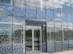Vliesgevel glass facade