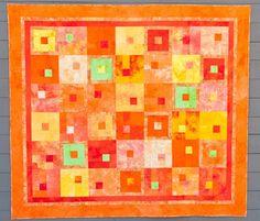 Nora's orange quilt
