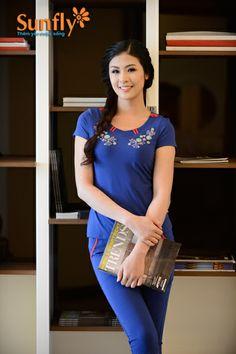 Bộ đồ mặc nhà quần ngố, cộc tay MH622 Mã SP: MH622 Giá: 324,000 VND