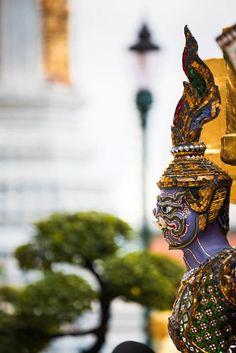 Grand Palace, Bangkok, Thailand Bangkok Thailand, Bokeh, Your Photos, Palace, Statue, Travel, Viajes, Palaces, Destinations