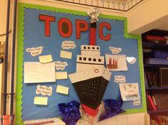 Titanic display