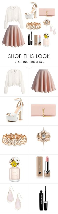 """""""Untitled #22"""" by pamela-annus ❤ liked on Polyvore featuring H&M, Chicwish, River Island, Yves Saint Laurent, Accessorize, Marc Jacobs and Kendra Scott"""