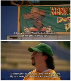 Kenny Powers dropping knowledge
