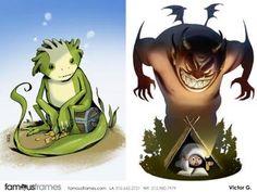 FamousFrames Storyboards, Animatic Artists, Storyboard Artists, Victor Gatmaitan