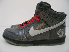 big sale 8852c dec76 Nike Dunk High - Pharrell N.E.R.D. Snakeskin Sample - SneakerNews.com
