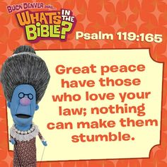 Psalm 119:165 - Verse of the Day 5/17/13 - Whats in the Bible