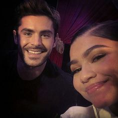 zendaya and zac The Greatest Showman, Zac Efron And Vanessa, Celebrity Photography, Best B, Zendaya Coleman, Cute Actors, Best Actor, Great Movies, Queen