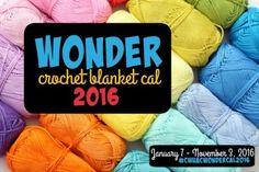 Wonder Blanket CAL 2016 part 2
