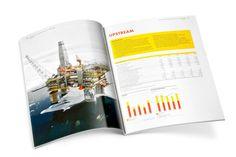 Studio Dumbar: Shell Annual Reports