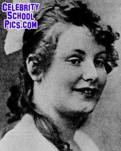 Greta Garbo - Celebrity School Pic