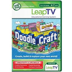 LeapFrog LeapTV Doodlecraft Starring Mr. Pencil…