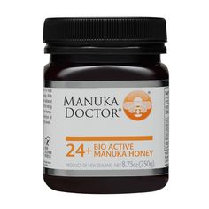 Our Honey  24+ Bio Active Manuka Honey 100% New Zealand Honey Thoroughly & independently tested in New Zealand Packed in New Zealand in our own production facilities Fully traceable Manuka Honey, from hive to home