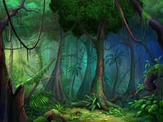 magical garden fairy forest picture and wallpaper