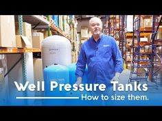 How to Size a Well Pressure Tank - YouTube Well Water System, Water Well, Water Systems, Well Pressure Tank, Wall Aquarium, Aquarium Ideas, Well Tank, Faux Wood Blinds, Relief Valve