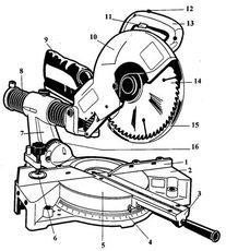 Makita-UC3530A-UC4030A-electric-chainsaw-component-diagram
