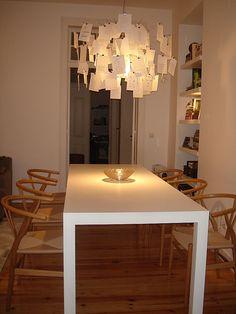 Zettel Lampe