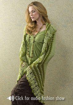 Guadalupe Wrap: free pattern
