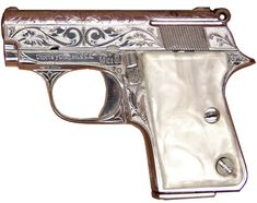 Almost a toy, lol . a pearl handle, good for your boot Rifles, Handgun For Women, Pocket Pistol, Custom Glock, Wood Carving Art, Cool Gear, Edc Gear, Guns And Ammo, Girls Best Friend