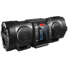 JVC-RVNB100-40W-Portable-Bluetooth-DAB-CD-Radio-Boombox-With-iPhone-5-Dock
