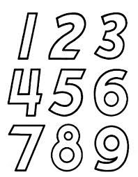 learn numbers preschool activities for kids these free printable learning numbers coloring pages are fun for kids