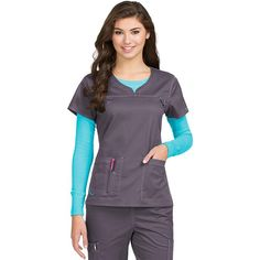 Med Couture MC2 Lexi Top 8489