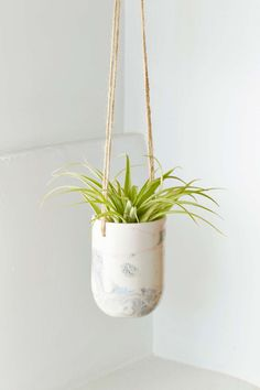 Leah Ball Rocco Marbled Planter |