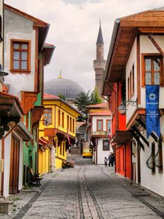 Old Turkish houses in Odunpazarı Eskişehir / Turkey Pics Art, Art Pictures, Places Around The World, Around The Worlds, Places To Travel, Places To Visit, Turkey Photos, Turkish Art, Z Arts