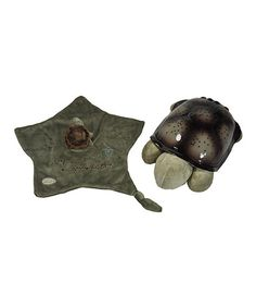 Take a look at this Classic Twilight Turtle Constellation Night-Light & Lovie Set by Cloud b on #zulily today!