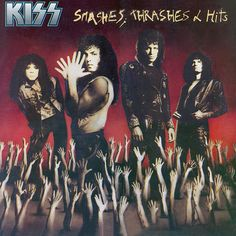 On this day in KISSTORY - November 1988 - KISS released their double platinum album, Smashes, Thrashes & Hits. Kiss Album Covers, I Love It Loud, Heavens On Fire, Tears Are Falling, Kiss Songs, Detroit Rock City, Crazy Night, Hot Band, Soul Music