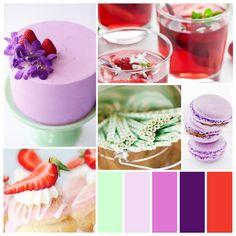 Pretty Palette: Strawberry Lavender Mint — Showerbelle | Host a Happy Bridal Shower