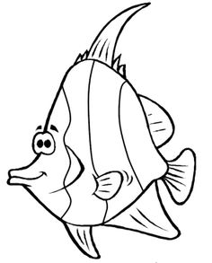 picture fish coloring pages