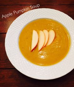 Apple Pumpkin Soup h