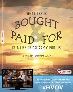 Watch Gloria Copeland and Kellie Copeland on the Believer's Voice of Victory broadcast share how obeying correction from God opens the door to victorious living. Walking in obedience will bring about God's blessing. - See more at: http://www.kcm.org/watch/tv-broadcast/obedience-brings-about-the-blessing-god#sthash.6Tcjpl7G.dpuf