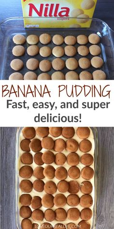 This fast and delicious banana pudding recipe is a crowd pleaser! Make it for a group or to enjoy with your own family. Kids and adults will both love this easy dessert and come back for more! easy desserts Fast and Delicious Banana Pudding Dessert Magnolia Bakery Banana Pudding, No Bake Banana Pudding, Banana Pudding Desserts, Southern Banana Pudding, Homemade Banana Pudding, Easy Desserts For Kids, Quick Dessert Recipes, Köstliche Desserts, Cupcake Recipes