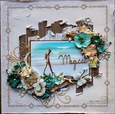 """Tina Marie - Forever and Always: """"Magical Moments"""" Pion Design - Shorline Treasures collection"""
