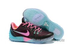 cffd3e246b25 Nike Zoom Kobe Venomenon 5 Cheap Black Faded Pink Teal Online MX5QEc