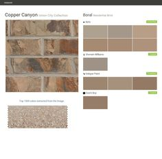 Union city collection residential bricks boral usa boral brick copper - Breathable exterior masonry paint collection ...