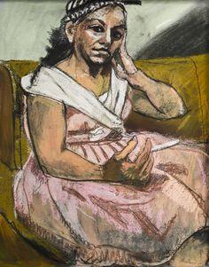 "huariqueje: "" The Cigarett - Paula Rego, 2006 British-Portuguese Pastel on paper "" Paula Rego Art, Figure Painting, Painting & Drawing, Galleries In London, Portraits, Feminist Art, Paul Cezanne, Fine Art, Illustrations"