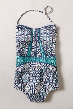 Nanette Lepore Tiled Waters Maillot - anthropologie.com