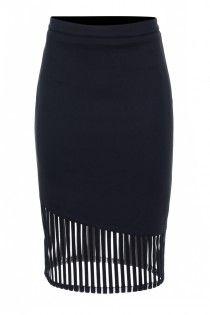 Mystic Midi Skirt - Mystic Midi Skirt - Skirts - Pencil - Knee Length - Brands - Bluejuice - Bluejuice