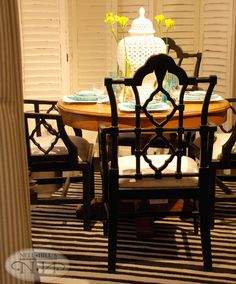 Love the style & color of this chair. Dining Rooms, Dining Table, Wood Chairs, Eat Your Heart Out, Round Tables, Interior Design Business, Rattan Furniture, Cozy Room, Carved Wood