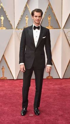 Andrew Garfield attends the 89th Annual Academy Awards at Hollywood & Highland Center in Los Angeles... - Kevin Mazur/Getty Images North America
