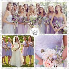 Lilac Bridesmaids - Damigelle d'onore color lilla