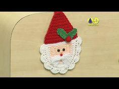 Crochet Shawlette - Como tejer bolero a crochet Green Christmas, Christmas Angels, Simple Christmas, Christmas Cards, Christmas Decorations, Crochet Santa, Santa Ornaments, Kanzashi Flowers, Crochet Videos